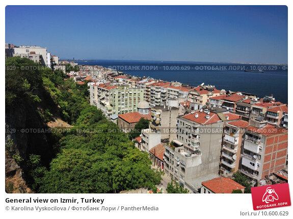 General view on Izmir, Turkey. Стоковое фото, фотограф Karolina Vyskocilova / PantherMedia / Фотобанк Лори