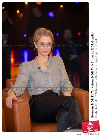 Купить «German NDR TV Talkshow NDR Talk Show at NDR-Studio Featuring: Heike Makatsch Where: Hamburg, Germany When: 27 Dec 2016 Credit: Schultz-Coulon/WENN.com», фото № 28700445, снято 27 декабря 2016 г. (c) age Fotostock / Фотобанк Лори