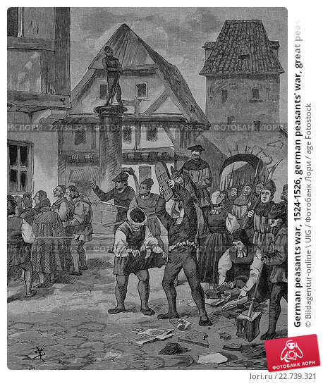 the peasant's revolt in the german The great christian humanists of the fifteenth and sixteenth centuries believed that reform could be the german peasants' revolt of 1525 greatly strengthened the.