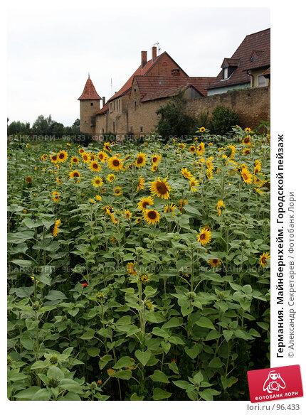 Купить «Германия. Майнбернхейм. Городской пейзаж», фото № 96433, снято 13 июля 2007 г. (c) Александр Секретарев / Фотобанк Лори