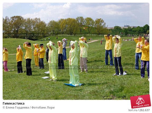 Купить «Гимнастика», фото № 282637, снято 11 мая 2008 г. (c) Елена Гордеева / Фотобанк Лори