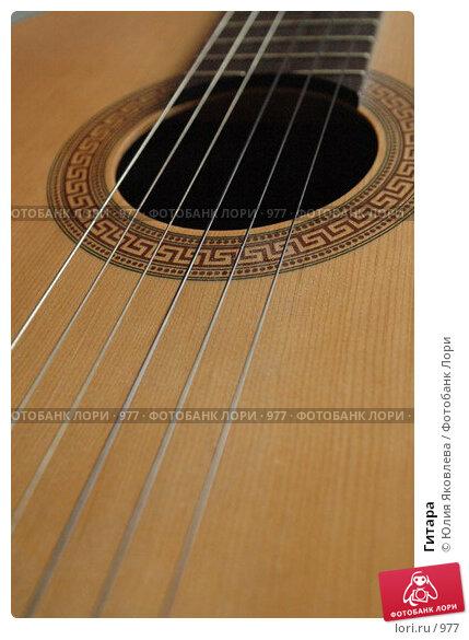 Гитара, фото № 977, снято 25 февраля 2006 г. (c) Юлия Яковлева / Фотобанк Лори