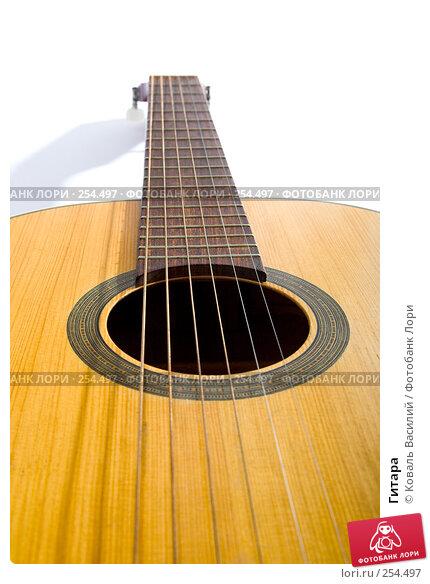 Купить «Гитара», фото № 254497, снято 21 марта 2008 г. (c) Коваль Василий / Фотобанк Лори