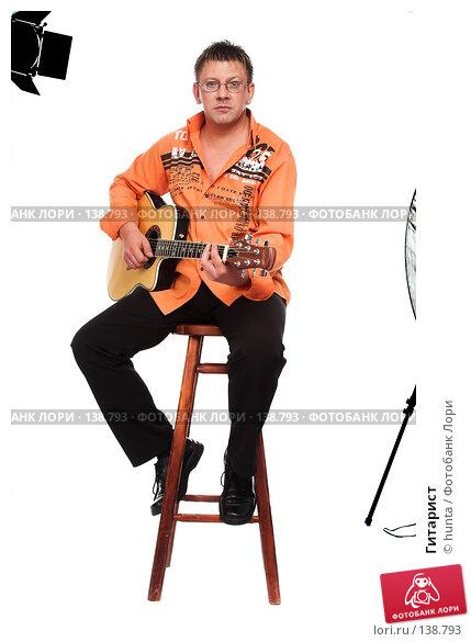 Гитарист, фото № 138793, снято 5 августа 2007 г. (c) hunta / Фотобанк Лори