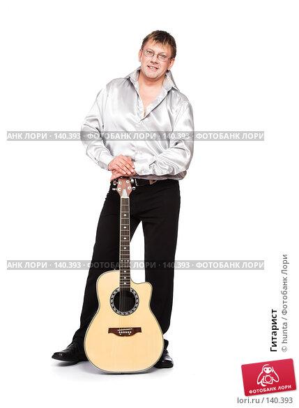 Гитарист, фото № 140393, снято 5 августа 2007 г. (c) hunta / Фотобанк Лори
