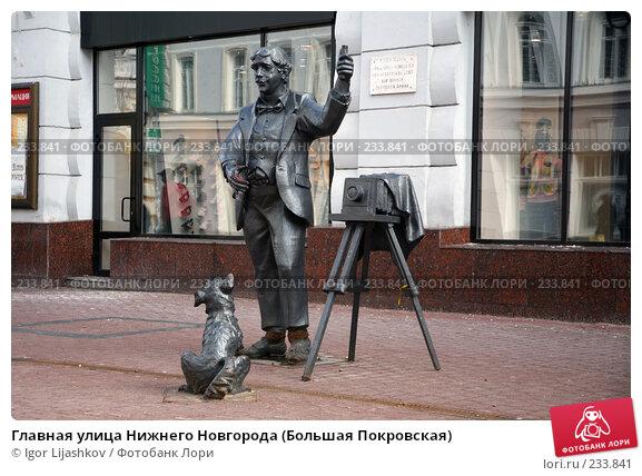 Главная улица Нижнего Новгорода (Большая Покровская), фото № 233841, снято 24 марта 2008 г. (c) Igor Lijashkov / Фотобанк Лори