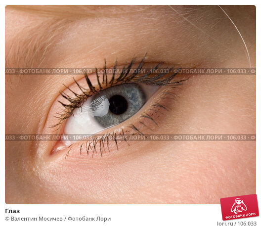 Глаз, фото № 106033, снято 28 июня 2007 г. (c) Валентин Мосичев / Фотобанк Лори