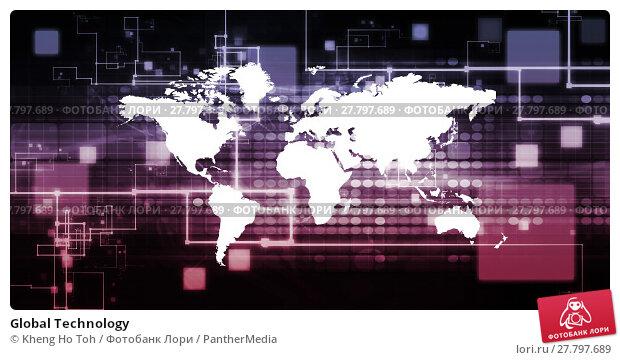 Купить «Global Technology», фото № 27797689, снято 15 октября 2018 г. (c) PantherMedia / Фотобанк Лори