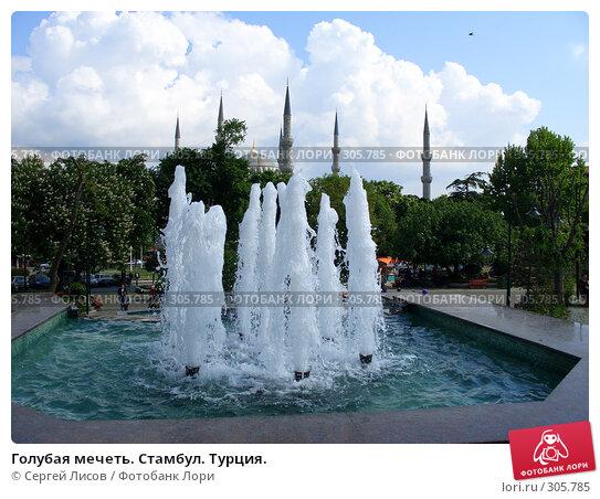 Голубая мечеть. Стамбул. Турция., фото № 305785, снято 5 мая 2008 г. (c) Сергей Лисов / Фотобанк Лори