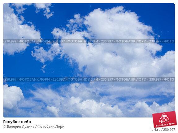 Голубое небо, фото № 230997, снято 13 июля 2007 г. (c) Валерия Потапова / Фотобанк Лори
