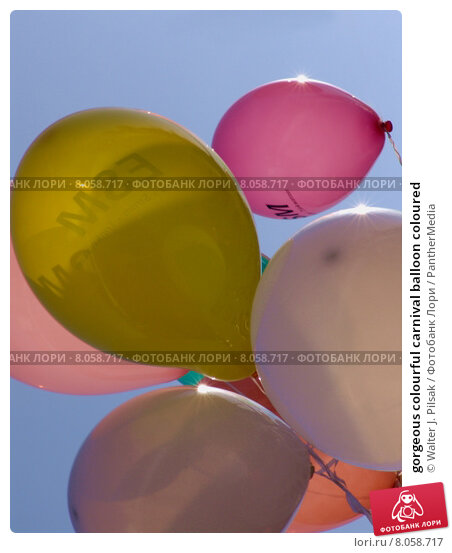 Купить «gorgeous colourful carnival balloon coloured», фото № 8058717, снято 23 июля 2019 г. (c) PantherMedia / Фотобанк Лори