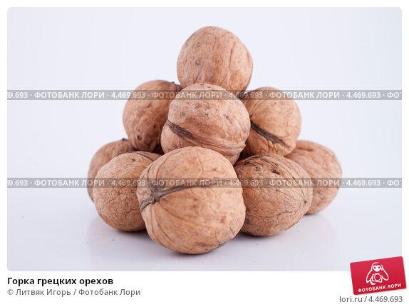 Купить «Горка грецких орехов», фото № 4469693, снято 3 марта 2013 г. (c) Литвяк Игорь / Фотобанк Лори