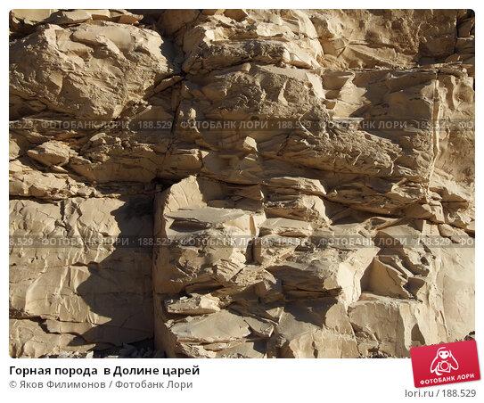 Горная порода  в Долине царей, фото № 188529, снято 15 января 2008 г. (c) Яков Филимонов / Фотобанк Лори
