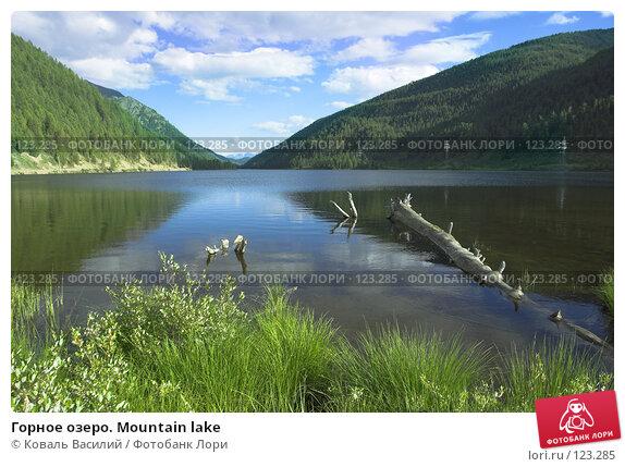 Горное озеро. Mountain lake, фото № 123285, снято 24 января 2017 г. (c) Коваль Василий / Фотобанк Лори
