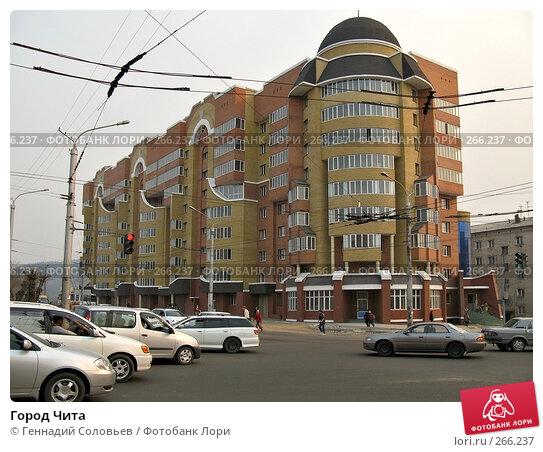 Город Чита, фото № 266237, снято 18 апреля 2008 г. (c) Геннадий Соловьев / Фотобанк Лори