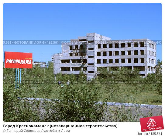 Купить «Город Краснокаменск (незавершенное строительство)», фото № 185561, снято 31 июля 2007 г. (c) Геннадий Соловьев / Фотобанк Лори