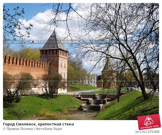 Город Смоленск, крепостная стена, фото № 273009, снято 26 апреля 2008 г. (c) Примак Полина / Фотобанк Лори