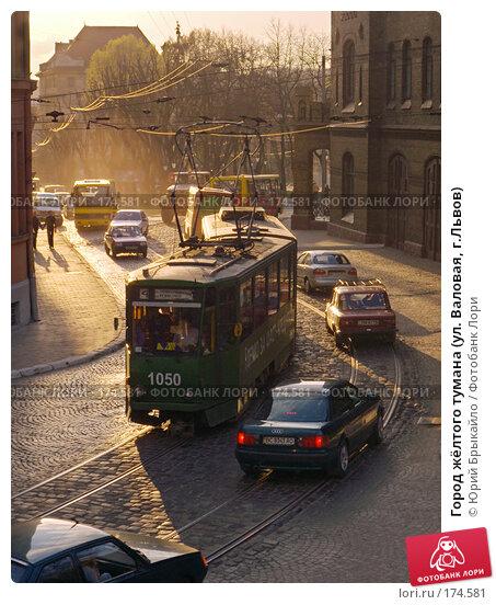 Город жёлтого тумана (ул. Валовая, г.Львов), фото № 174581, снято 15 апреля 2007 г. (c) Юрий Брыкайло / Фотобанк Лори