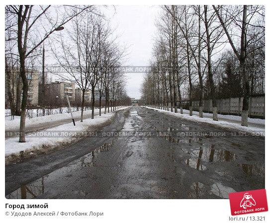 Купить «Город зимой», фото № 13321, снято 23 мая 2018 г. (c) Удодов Алексей / Фотобанк Лори
