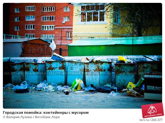 Городская помойка: контейнеры с мусором, фото № 243377, снято 20 мая 2007 г. (c) Валерия Потапова / Фотобанк Лори