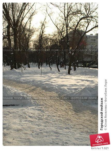 Городской пейзаж, фото № 1021, снято 1 марта 2006 г. (c) Юлия Яковлева / Фотобанк Лори