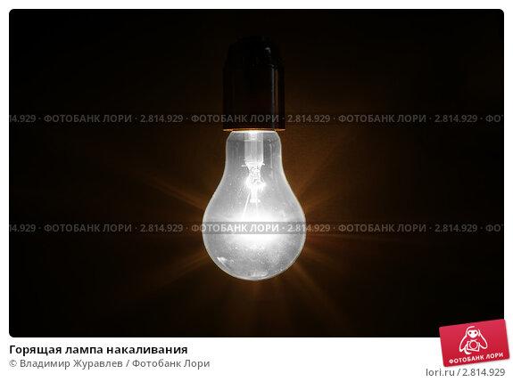 Купить «Горящая лампа накаливания», фото № 2814929, снято 23 февраля 2011 г. (c) Владимир Журавлев / Фотобанк Лори