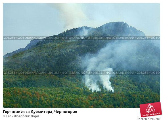Горящие леса Дурмитора, Черногория, фото № 296281, снято 28 августа 2007 г. (c) Fro / Фотобанк Лори