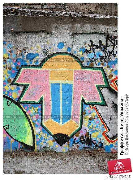 Граффити... Киев, Украина., фото № 170245, снято 3 января 2008 г. (c) Игорь Веснинов / Фотобанк Лори