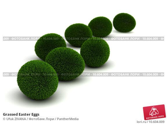 Grassed Easter Eggs. Стоковое фото, фотограф Ufuk ZIVANA / PantherMedia / Фотобанк Лори
