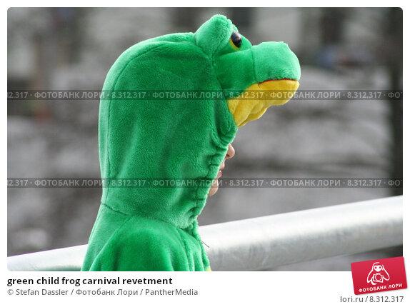 Купить «green child frog carnival revetment», фото № 8312317, снято 22 июля 2019 г. (c) PantherMedia / Фотобанк Лори