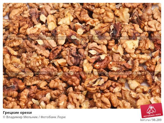 Грецкие орехи, фото № 98289, снято 11 октября 2007 г. (c) Владимир Мельник / Фотобанк Лори