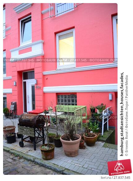 Купить «hamburg,stadtansichten,houses,facades,», фото № 27837545, снято 22 февраля 2018 г. (c) PantherMedia / Фотобанк Лори