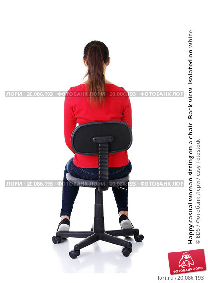 фото девушек сзади на стуле