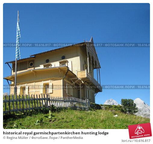 historical royal garmischpartenkirchen hunting lodge. Стоковое фото, фотограф Regina Müller / PantherMedia / Фотобанк Лори