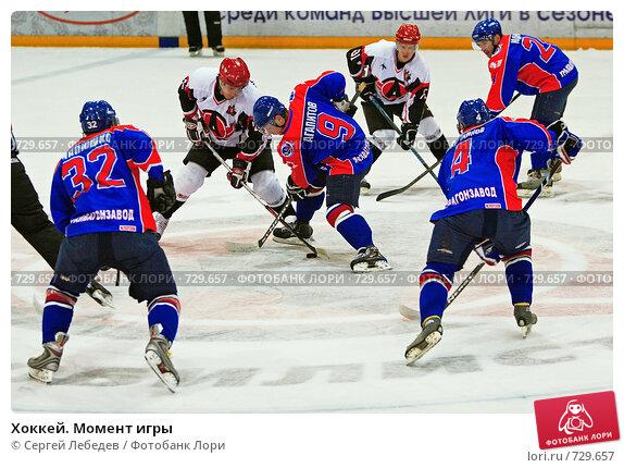 Купить «Хоккей. Момент игры», фото № 729657, снято 26 февраля 2020 г. (c) Сергей Лебедев / Фотобанк Лори