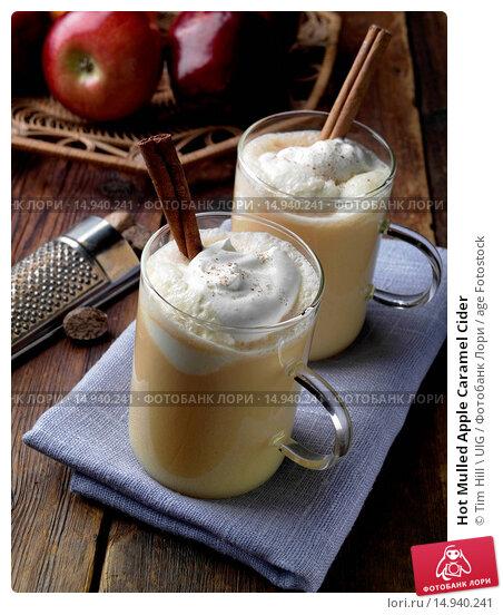 Купить «Hot Mulled Apple Caramel Cider», фото № 14940241, снято 18 октября 2019 г. (c) age Fotostock / Фотобанк Лори