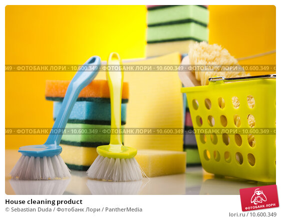 House cleaning product. Стоковое фото, фотограф Sebastian Duda / PantherMedia / Фотобанк Лори
