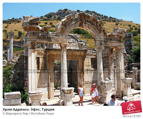 Храм Адриана. Эфес, Турция, фото № 9197, снято 9 июля 2006 г. (c) Маргарита Лир / Фотобанк Лори