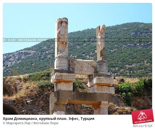 Храм Домициана, крупный план. Эфес, Турция, фото № 9121, снято 9 июля 2006 г. (c) Маргарита Лир / Фотобанк Лори