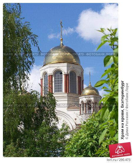 Купить «Храм на крови, Екатеринбург», фото № 290473, снято 16 мая 2008 г. (c) Дима Рогожин / Фотобанк Лори