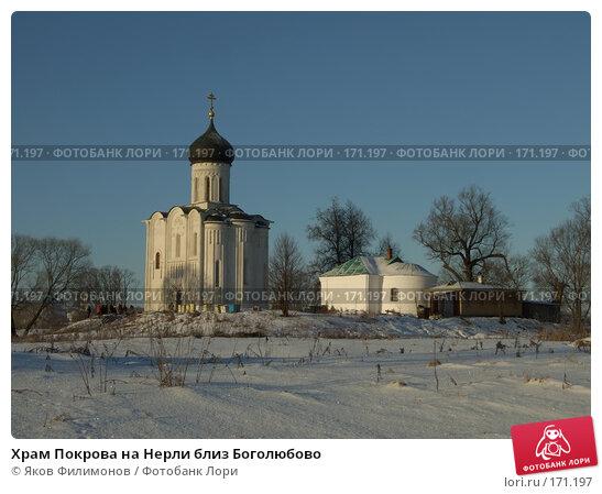 Храм Покрова на Нерли близ Боголюбово, фото № 171197, снято 3 января 2008 г. (c) Яков Филимонов / Фотобанк Лори