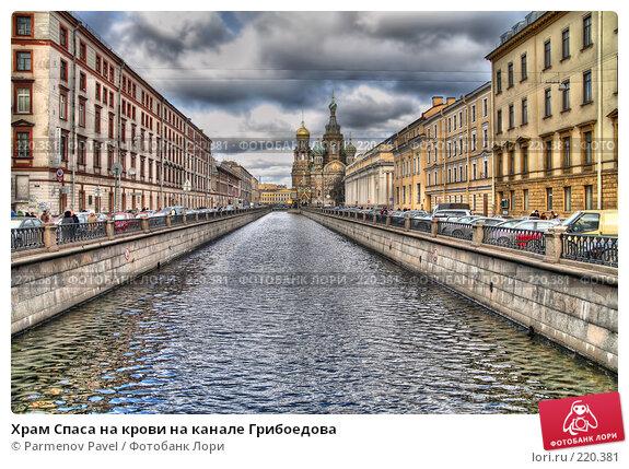 Храм Спаса на крови на канале Грибоедова, фото № 220381, снято 14 февраля 2008 г. (c) Parmenov Pavel / Фотобанк Лори
