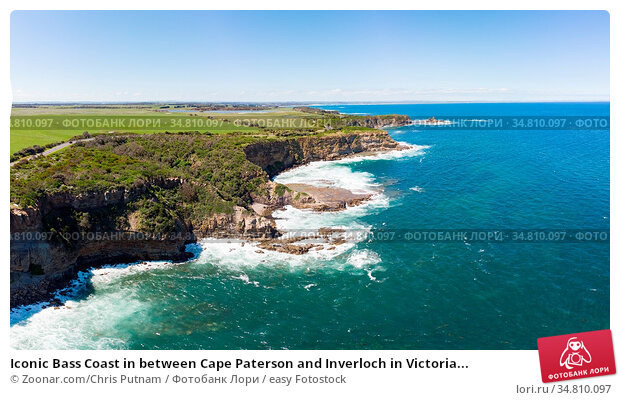 Iconic Bass Coast in between Cape Paterson and Inverloch in Victoria... Стоковое фото, фотограф Zoonar.com/Chris Putnam / easy Fotostock / Фотобанк Лори