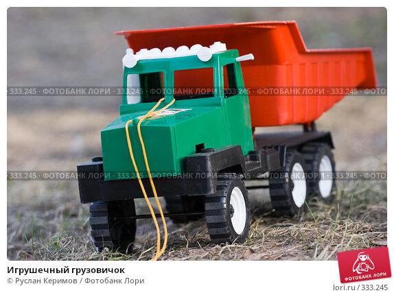 Купить «Игрушечный грузовичок», фото № 333245, снято 28 апреля 2008 г. (c) Руслан Керимов / Фотобанк Лори