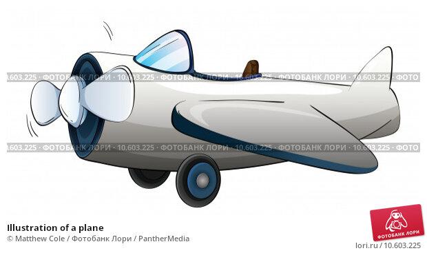 Illustration of a plane. Стоковая иллюстрация, иллюстратор Matthew Cole / PantherMedia / Фотобанк Лори