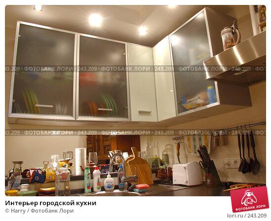 Интерьер городской кухни, фото № 243209, снято 26 мая 2005 г. (c) Harry / Фотобанк Лори