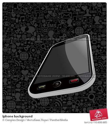 Iphone background. Стоковая иллюстрация, иллюстратор Cienpies Design / PantherMedia / Фотобанк Лори