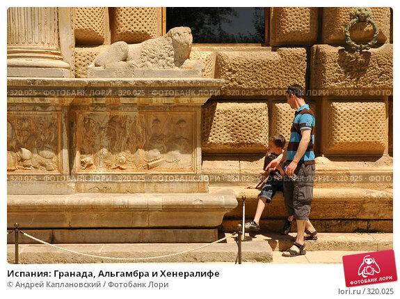Купить «Испания: Гранада, Альгамбра и Хенералифе», фото № 320025, снято 1 мая 2008 г. (c) Андрей Каплановский / Фотобанк Лори