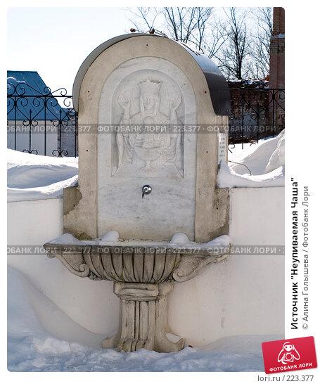 """Источник """"Неупиваемая Чаша"""", эксклюзивное фото № 223377, снято 21 февраля 2008 г. (c) Алина Голышева / Фотобанк Лори"""