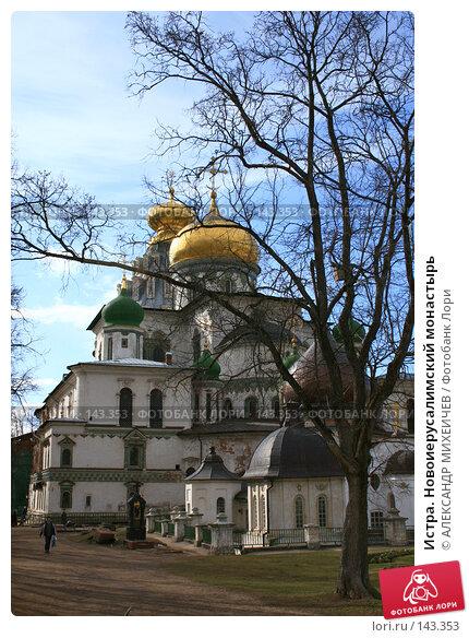 Истра. Новоиерусалимский монастырь, фото № 143353, снято 8 апреля 2007 г. (c) АЛЕКСАНДР МИХЕИЧЕВ / Фотобанк Лори